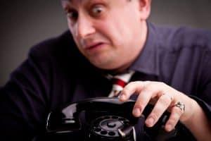 Telefoneren zonder vrees voor een zakelijk gesprek in het Engels
