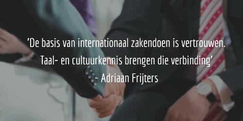 Quote Adriaan Frijters blog SR training