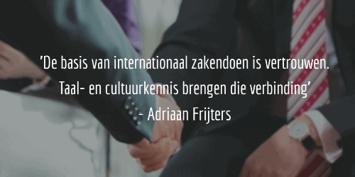 Quote Adriaan Frijters blog SR training