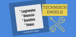 Technisch-Engels-lengtematen-dimensies-gewichten-volume-SR training-zakelijk-Engels