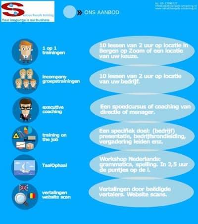 Ons-Aanbod-taaltrainingen - SR training-Zakelijk-Engels-infographic