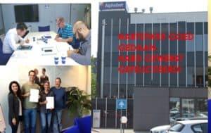 Zakelijk Engels SR training deelnemers aan cursus met certificaat SR training