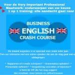 Spoedcursus zakelijk Engels SR training