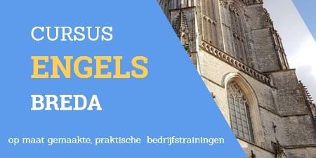 tekst: cursus Engels breda afbeelding: kerk van Breda