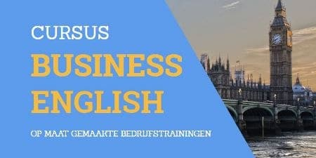Tekst: cursus Business English plaatje: Big Ben