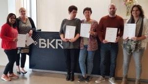 BKR medewerkers met certificaat zakelijk Engels SR training