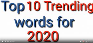 Nieuwe woorden in het Engels - SR training zakelijk Engels