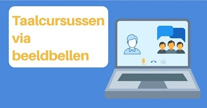 Taalcursussen via beeldbellen - video call
