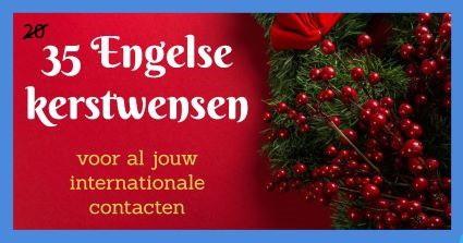 Engelse kerstwensen
