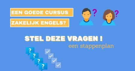 Cursus Business Engels – maak de beste keuze - SR training