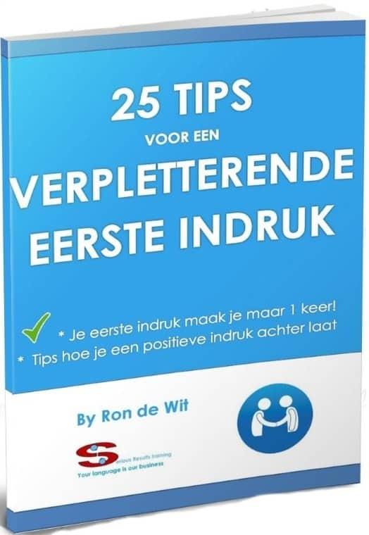 25-tips-verpletterende-1e-indruk-SR training-zakelijk-Engels